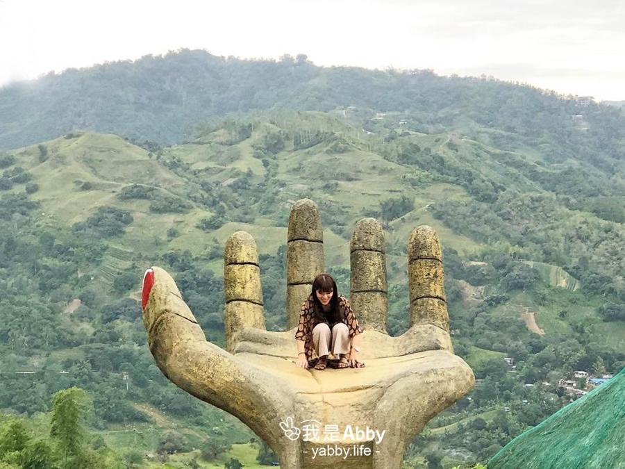 【菲律賓-宿霧】Sirao Pictorial Garden宿霧必拍景點;巨大手掌超吸睛
